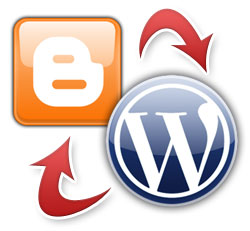 blogger-and-wordpress-differences-logo