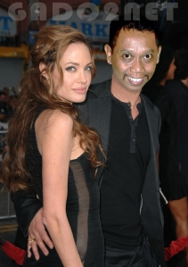 ANGELINA JOLIE AND TUKUL ARWANA